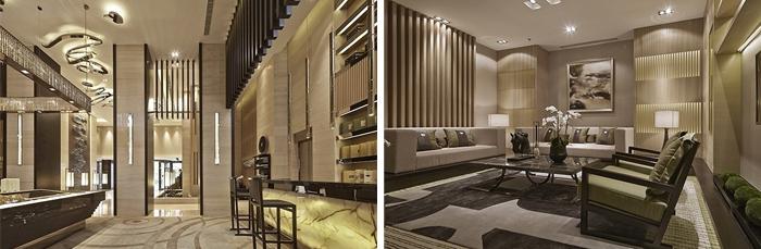 现代东方新中式售楼处设计理念建筑设计公司的流程图片